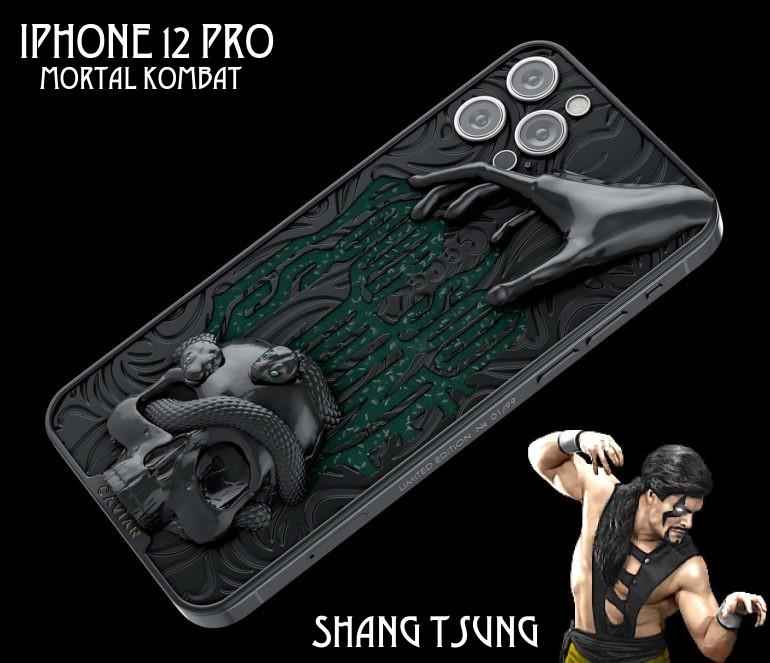iphone shang tsung