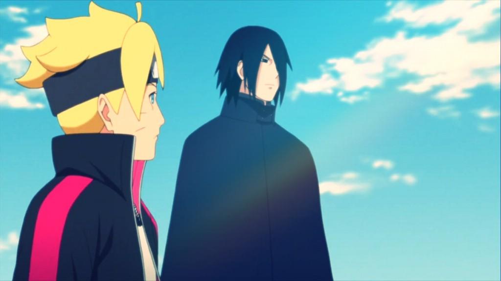 sasuke e boruto