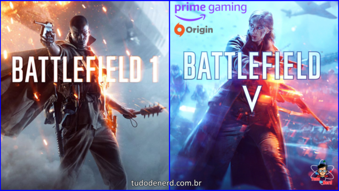 BatlleField 1 e V Estão de Graça para Membros do Amazon Prime